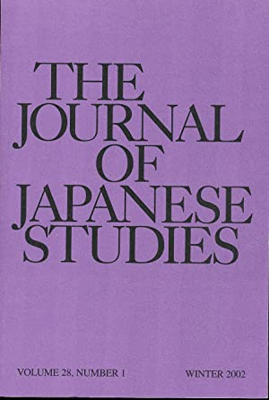 The Journal of Japanese Studies (2002): Hanley, Susan and