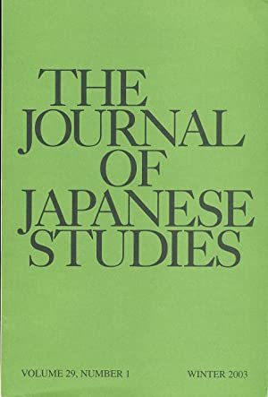 The Journal of Japanese Studies (2003): Hanley, Susan and