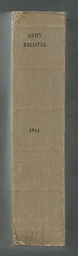 Official Army Register 1 January 1944