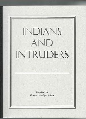 Indian and Intruders Volume I (Oklahoma): Ashton, Sharron Standifer
