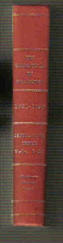 The Chronicles of Oklahoma: Cumulative Index Vols. I-XXXVII 1921-1959: Looney, Rella Watts