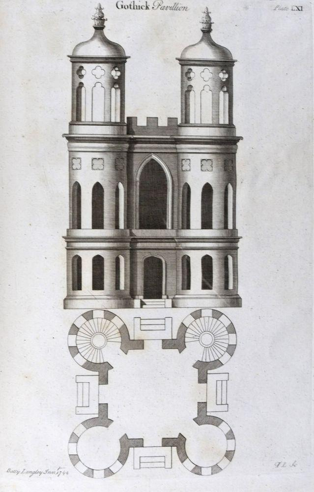 Gothic Architecture Improved by Rules and Proportions in Many Grand Designs [From the personal ...