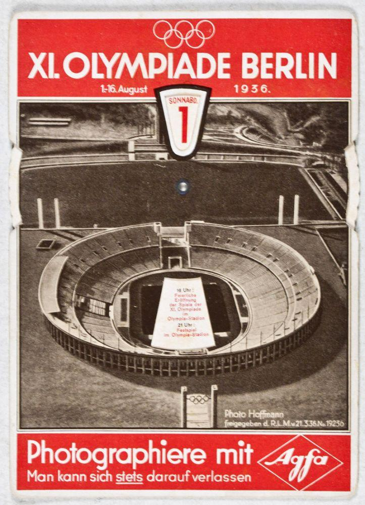 XI. Olympiade Berlin 1.-16. August 1936 - Photo-Wegweiser durch die Olympia-Stadt Berlin: Hoffmann,...