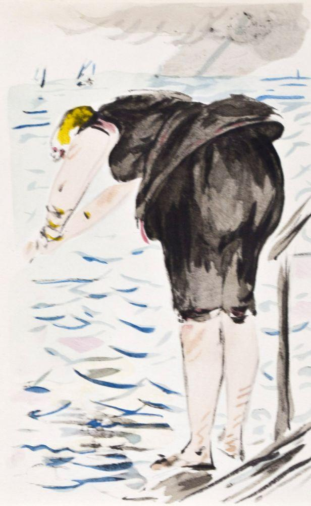 Letters with Aquarelles: Manet, Edouard