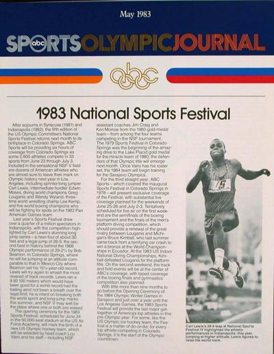 ABC Sports Olympic Journal (15 issues): n/a