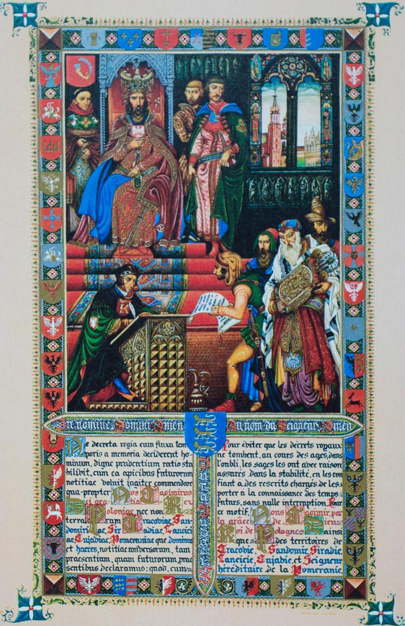 Statut Kaliski (The Statute of Kalisz): Szyk, Arthur (Illustrations by); Marian Fuks, Aleksander B....