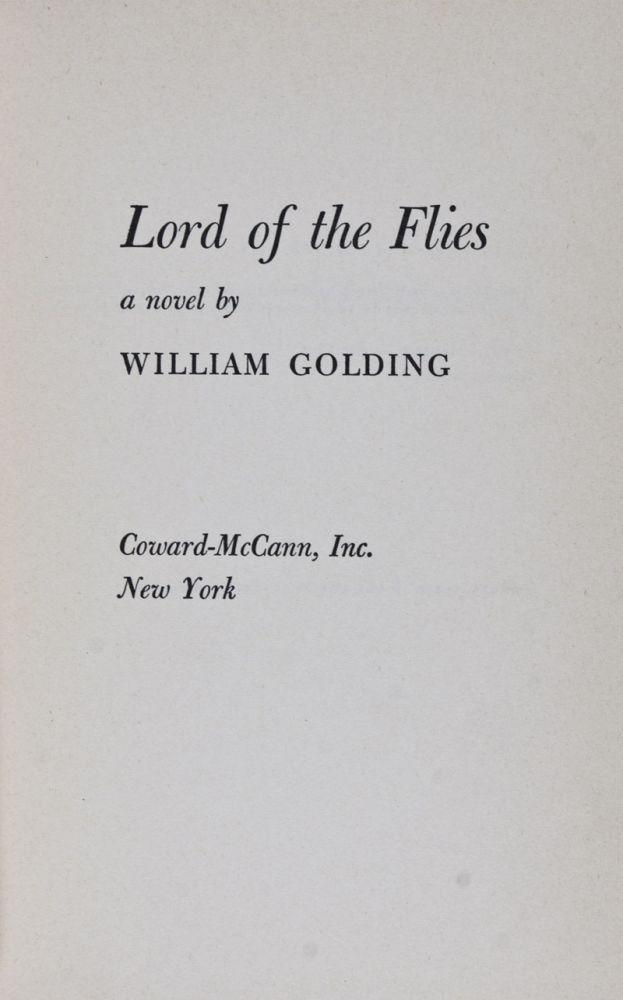the novel lord of the flies by william golding essay The lesson involves analysis of major characters in william golding's novel, lord of the flies simon is the first character used to demonstrate the interaction of direct and indirect characterization in the text.