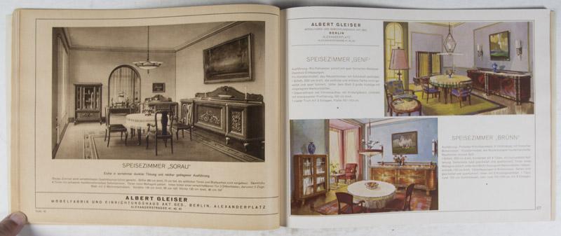 modernes mobel design, moderne möbel by albert gleiser a.-g: albert gleiser a.-g, berlin, Design ideen