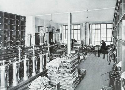 Gebr. Krüger & Co. Aktiengesellschaft. Berlin-Cöpenick. Spezial-Fabrik für ...