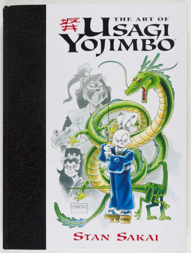 The Art of Usagi Yojimbo. 20th Anniversary Edition. [SIGNED, WITH ORIGINAL DRAWING BY ILLUSTRATOR] Sakai, Stan Very Good Hardcover