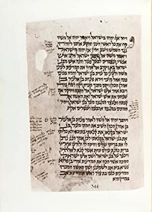 The Tittled Bible: A Model Codex of the Pentateuch. Reproduced in Facsimile from MS. No. 85 of the ...