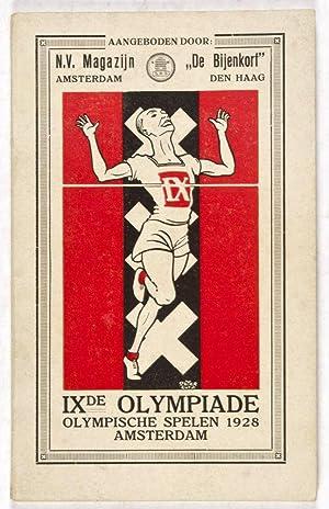 IXe Olympiade: Holland en de Olympische Spelen: Hoven, J. (Text