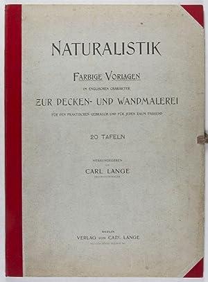Naturalistik. Farbige Vorlagen im englischen Charakter zur Decken- und Wandmalerei für den ...