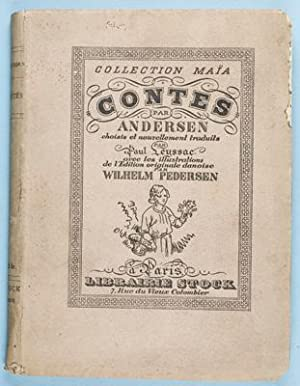Contes D'Andersen [INSCRIBED by TRANSLATOR]: Andersen, Hans Christian, Paul Leyssac (...
