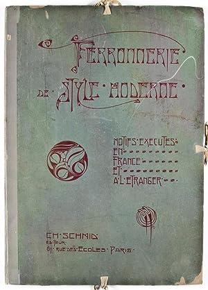 Ferronerie de Style Moderne: Motifs Executés en France et à L'Etranger: Schmid, ...