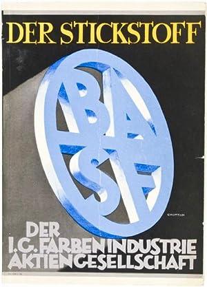 Der Stickstoff der I. G. Farbenindustrie Aktiengesellschaft. Ausgabe Januar 1928: n/a