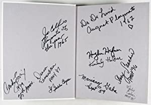 The Playmate Book. Five Decades of Centerfolds [SIGNED buy Hefner and Seven Centerfolds}: Edgren, ...