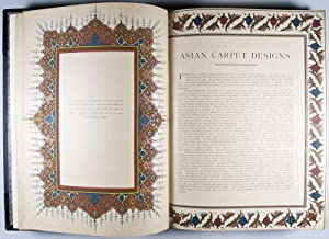 Asian Carpets: XVI. and XVII. Century Designs from the Jaipur Palaces: Hendley, Thomas H.