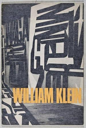 William Klein: Schilderijen, foto's, films. 27 januari - 12 maart 1967, catalogus nr. 409: ...