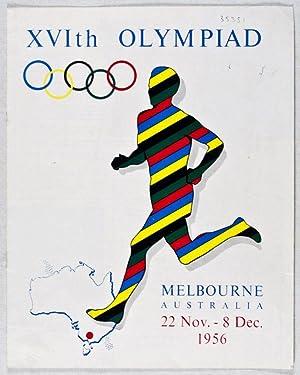 XVIth Olympiad: Melbourne, Australia, 22 Nov.- 8 Dec. 1956: n/a
