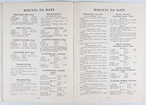 Official Program Xth Olympiad, Los Angeles, USA: Tuesday, August 2, 1932; Thursday August 4, 1932; ...