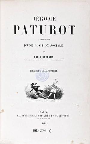 Jérome Paturot à la Recherche d'une Position Sociale: Reybaud, Louis (Text); J.-...