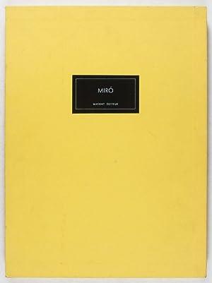 Derrière le Miroir [No. 231]: Mirò [WITH ORIGINAL LITHOGRAPHS]: Pleynet, Marcelin (...