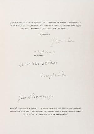 Derrière le Miroir [No. 150]: 5 Peintres et 1 Sculpteurs [WITH ORIGINAL LITHOGRAPHS, AND ...