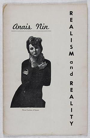 Realism and Reality: Nin, Anais