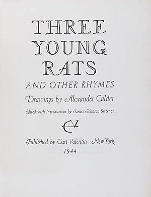 Three Young Rats: Sweeney, James Johnson (ed.)