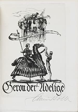 Geron der Adelige [SIGNED BY ARTIST]: Wieland, Christoph Martin