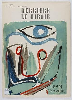 Derrière le Miroir, No 43 Fevrier 1952: Bram van Velde: Duthuit, Georges (Text)