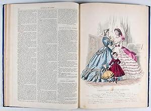 Le Moniteur des Dames et des Demoiselles 1864-1865 (November 1864-October 1865) [WITH 13 ...