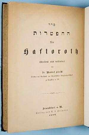 Die Haftoroth.: Hirsch, Mendel.