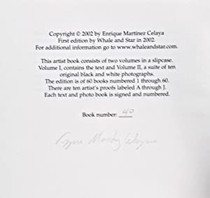 Guide. 2-vol. set (Complete) [SIGNED AND NUMBERED BY THE AUTHOR]: Celaya, Enrique Martínez