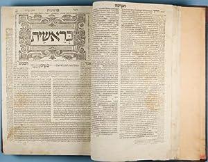 Mikraot gedolot: Torah Neviim u-Ketuvim [Biblia Rabbinica]. Complete in 4 vol: Modena, Leo di [...