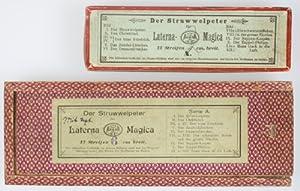 Der Struwwelpeter Laterna Magica (Two complete sets) [RARE]: Hoffmann, Heinrich