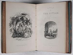 Oliver Twist; Or, The Parish Boy's Progress [bound with] A Tale of Two Cities. 2 Vols. in One:...
