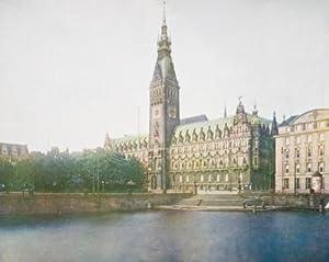 Die Hansestädte in Farbenphotographie: Hamburg: Lauffer, Otto Dr.; (editor)