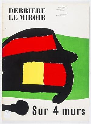 Derri re le miroir no 107 108 109 1959 sur 4 murs von for Derriere le miroir maeght