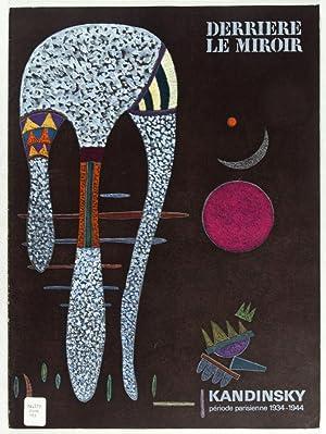 Derrière le Miroir, No 179: Kandinsky, Période Parisienne 1934-1944: Picon, Gaëtan