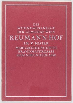 Die Wohnhausanlage der Gemeinde Wien Reumann-Hof im V. Bezirk. Margarethengürtel, ...