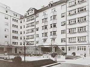Lassalle-Hof. Die Wohnhausanlage der Gemeinde Wien im II. Bezirk, Vorgartenstrasse, Ybbsstrasse, ...
