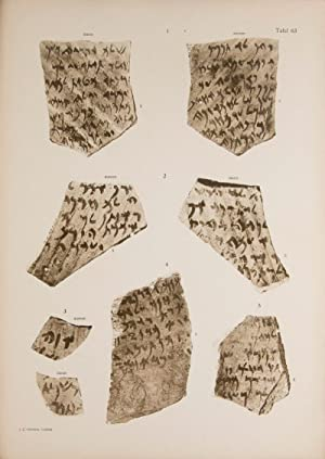 Aramäische Papyrus und Ostraka aus einer jüdischen Militär-Kolonie zu Elephantine: Altorientalische...