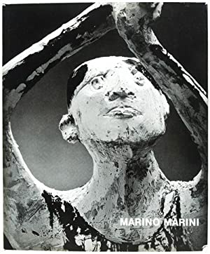 The Sculpture of Marino Marini [WITH ORIGINAL SIGNED LITHOGRAPH): Trier, Eduard (Text by); Helmut ...