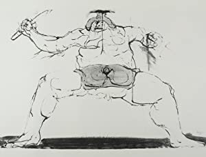 Drawings for the Iliad [WITH THREE ORIGINAL ETCHINGS SIGNED BY THE ARTIST]: Baskin, Leonard