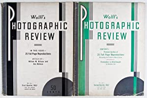 Wolff's Photographic Review. Vol. 1, No. 1 + 2: n/a