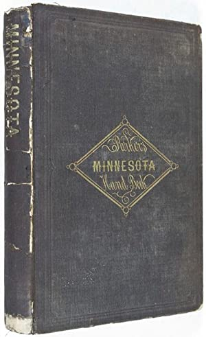 The Minnesota Handbook, for 1856-7 with a new and accurate map: Parker, Nathan H.