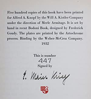 The Work of Maier-Krieg [SIGNED BY THE ARTIST]: Armitage, Merle