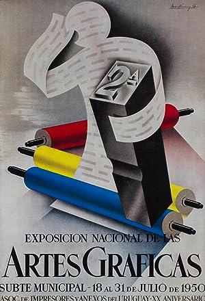 Segunda Exposicion Nacional de las Artes Graficas: Asociacion de Impresores y Anexos del Uruguay